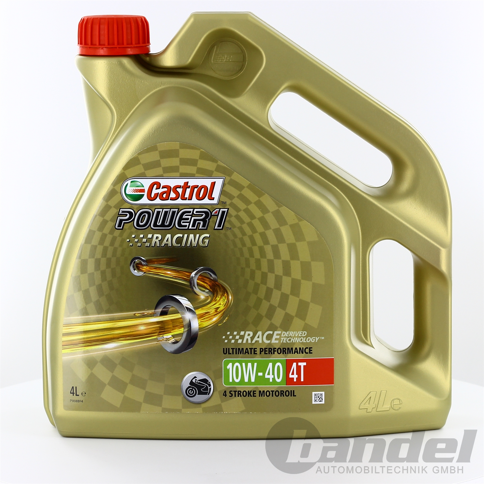 8 48 l 4l castrol power 1 racing 4t 10w 40 motorrad l