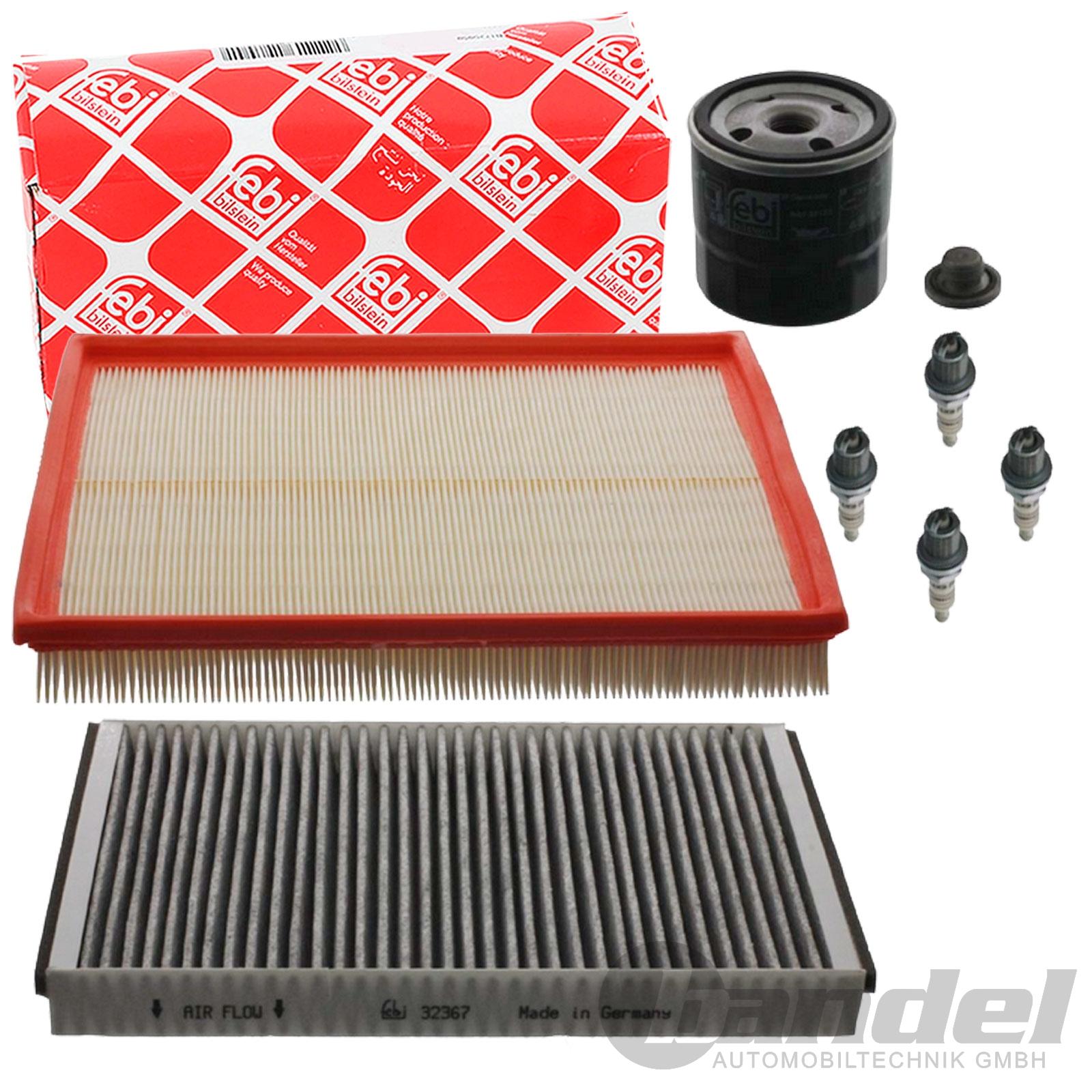 febi inspektionspaket opel astra h 1 6 105ps z ndkerzen l. Black Bedroom Furniture Sets. Home Design Ideas