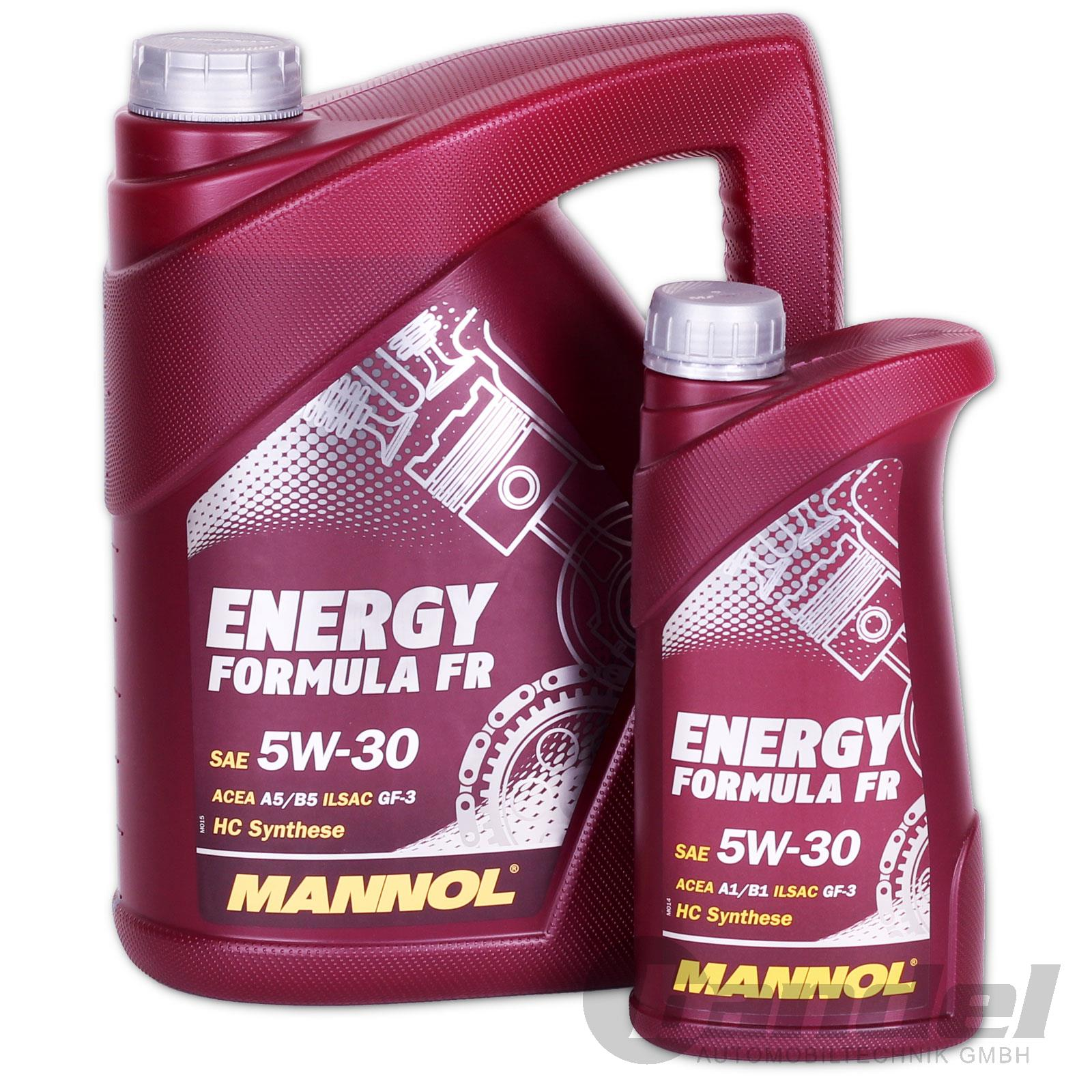 3 50 1l 6 liter 5 1 sae 5w 30 motor l mannol energy formula fr f r ford ebay. Black Bedroom Furniture Sets. Home Design Ideas