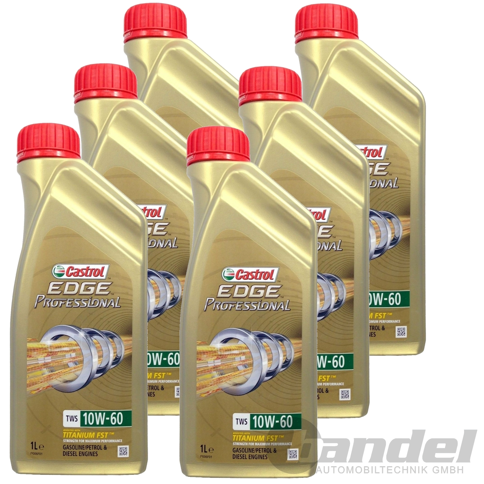 12 32 l 6x1l castrol edge 10w 60 professional tws. Black Bedroom Furniture Sets. Home Design Ideas