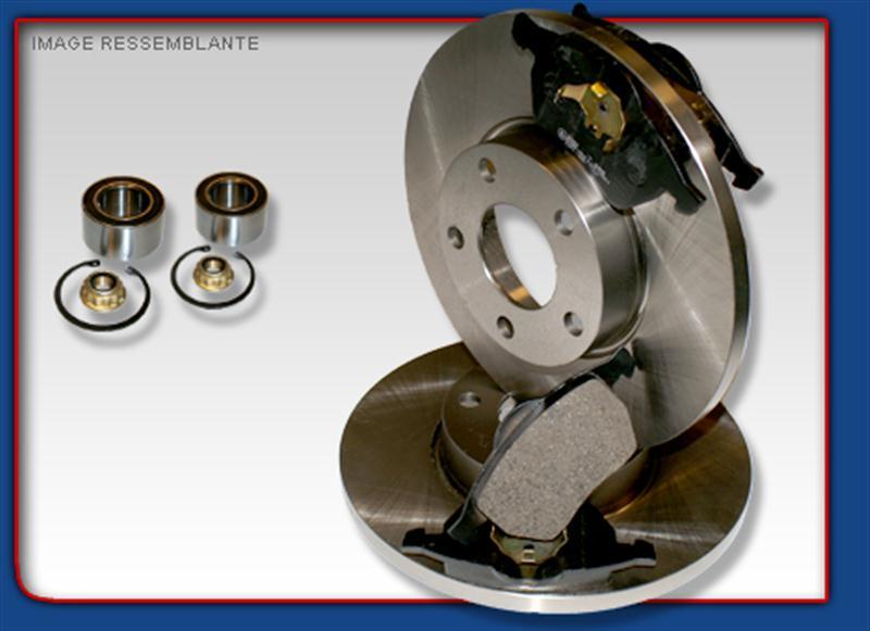 2 disques plaquettes roulements arriere vw golf 3 gti vr ebay. Black Bedroom Furniture Sets. Home Design Ideas