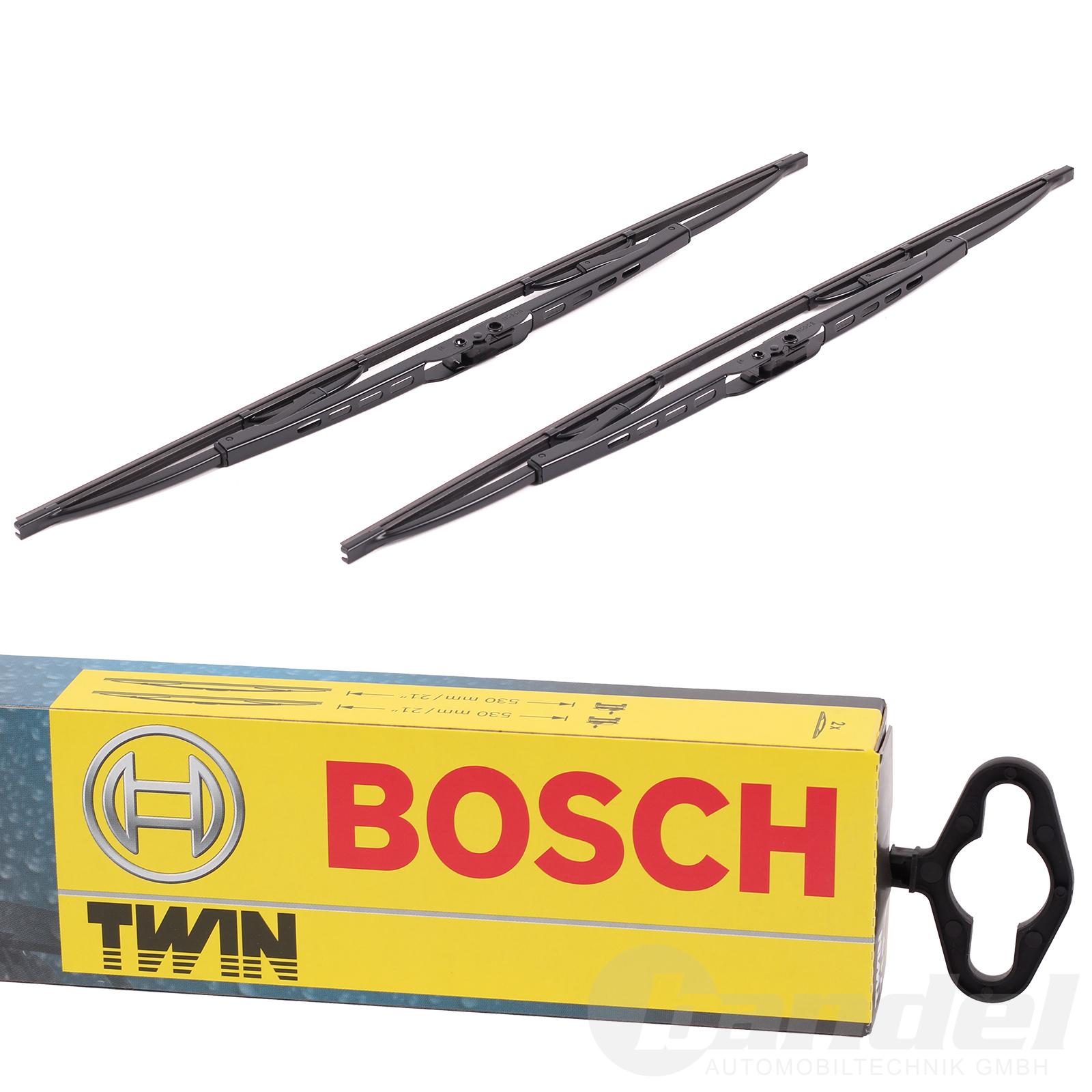 bosch twin scheibenwischer vorne 531 530 450mm nissan. Black Bedroom Furniture Sets. Home Design Ideas
