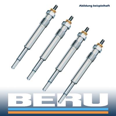 4x-BERU-GLUHKERZE-GN954-OPEL-1-6-D-16D-16DA-1-7-D-17D-17DR-X17DTL