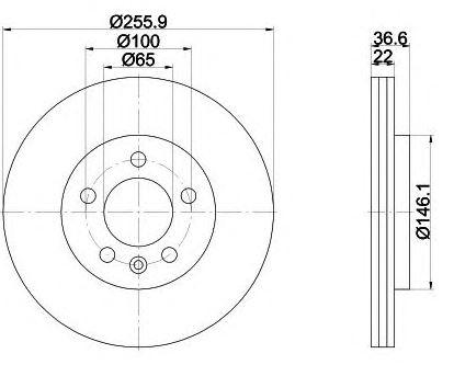 2 BREMSSCHEIBEN 256x22mm BREMSBELÄGE VORNE AUDI A1 SKODA FABIA SEAT IBIZA V