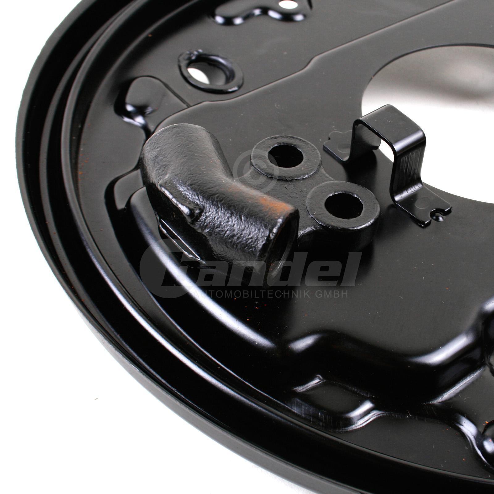 brems ankerplatte tr ger blech trommelbremse hinten links. Black Bedroom Furniture Sets. Home Design Ideas