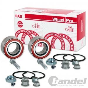 2x FAG Radlagersatz 713800810 Vorne VA VW Golf 2 3 Passat 35i Caddy Seat Ibiza