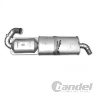 KATALYSATOR AUSPUFF KAT AUSPUFF SMART (450) FORTWO 0.6 0.7 Benziner CITY-COUPE Pic:1