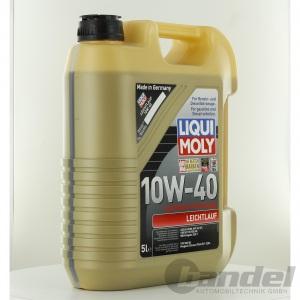 liqui moly leichtlauf 10w 40 motor l 5 liter kanister art 1310. Black Bedroom Furniture Sets. Home Design Ideas