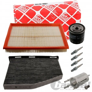 FEBI INSPEKTIONSPAKET 1.4 16V 75PS 55kW VW GOLF 5 / PLUS + CADDY III FILTER-SET