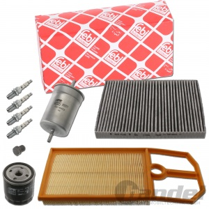 FEBI INSPEKTIONSPAKET 1.4 16V 75PS + 1.6 16V 105PS VW GOLF 4 BORA FILTER-SET