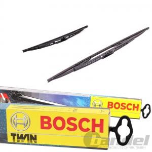 1x BOSCH TWIN 600 VORNE + Heckwischer H500 für Mercedes-Benz 190