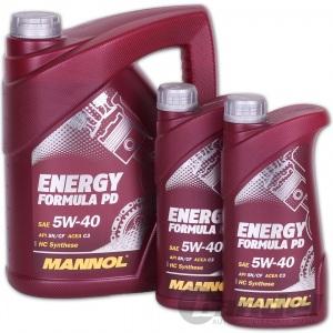 [3,86€/L] 7 Liter (5+2) 5W-40 Motoröl Mannol Energy Formula PD VW 502.00/505.01