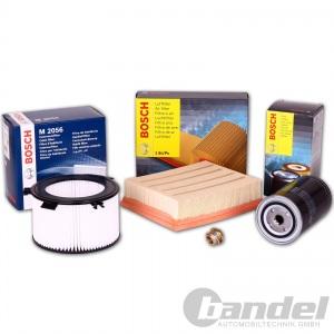 Bosch Filter Set VW T4 1.9 TD Öl Luft Innenraum Filter  ab. Bj. 96