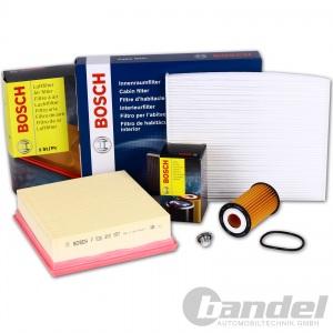 BOSCH Filterset Inspektionspaket Opel Corsa D 1.0 60PS 1.2 80PS 1.4 87PS 1.4 LPG