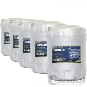 [0,83€/L] 100 Liter AdBLUE Harnstofflösung SCR Abgasreinigung Diesel TDI CDI HDI
