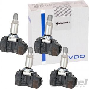 4x VDO RAD REIFENDRUCK SENSOR RDKS BMW 1er F20 21 22 45 3er F30 31 2er F22 23