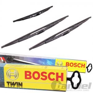 BOSCH' TWIN 500 VORNE+HECKWISCHER H301 DACIA DUSTER 1.5 DCI 1.2 TCE