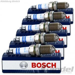 5x BOSCH SUPER+ ZÜNDKERZEN 2.3 VR5 150PS VW GOLF 4 GTI PASSAT 3B BORA TOLEDO