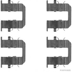 HERTH+BUSS J3660515 ZUBEHÖR-SATZ für Bremsbeläge für HINTEN Hyundai KIA