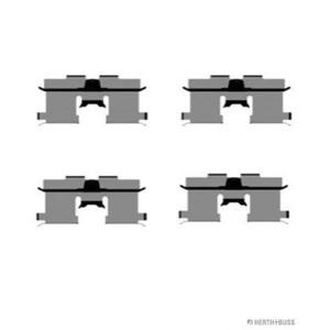 HERTH+BUSS J3660902 ZUBEHÖR-SATZ für Bremsbeläge für HINTEN Chevrolet Daewoo
