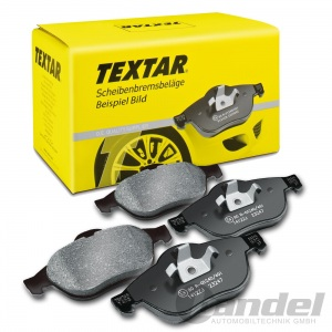 TEXTAR BREMSBELÄGE VORDERACHSE RENAULT 11+18+19 VARIABLE CHAMADE + CLIO + TWINGO