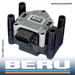1x BERU ZÜNDSPULE AUDI A1 A2 A3 A4 (B5 B6 B7) VW CADDY III GOLF IV V VI PASSAT