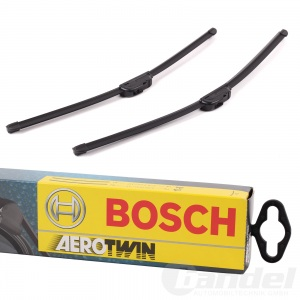 BOSCH AEROTWIN SCHEIBENWISCHER SET VORNE A927S 530+475mm VW GOLF 4 POLO 9N BORA