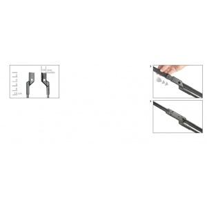 original BOSCH AEROTWIN PERFORMANCE SCHEIBENWISCHER SET VORNE A966S 600mm+530mm Pic:2