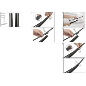 bosch 39 aerotwin a051s vorne heckwischer a400h f r skoda. Black Bedroom Furniture Sets. Home Design Ideas