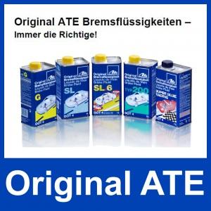 [4,78€/L] 5 Liter original ATE SL DOT 4 BREMSFLÜSSIGKEIT 5000 ml DOT4 Pic:2