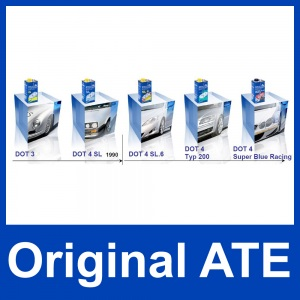 [4,78€/L] 5 Liter original ATE SL DOT 4 BREMSFLÜSSIGKEIT 5000 ml DOT4 Pic:4