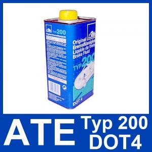 [14,49€/L] 1 Liter original ATE TYP 200 DOT 4 BREMSFLÜSSIGKEIT 1000ml Pic:3