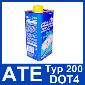 [14,49€/L] 1 Liter original ATE TYP 200 DOT 4 BREMSFLÜSSIGKEIT 1000ml