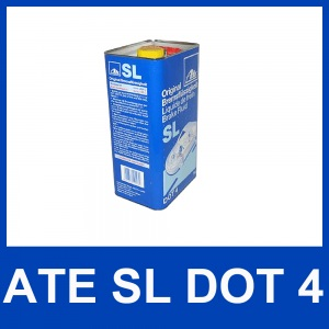 [4,78€/L] 5 Liter original ATE SL DOT 4 BREMSFLÜSSIGKEIT 5000 ml DOT4 Pic:3