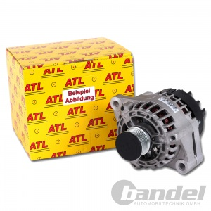 ATL LICHTMASCHINE GENERATOR AUDI 100 C3+C4 80 B2+B3+B4 COUPE VW GOLF I+II CADDY