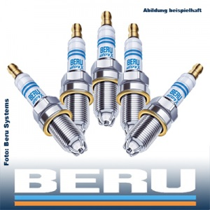 5x BERU Zündkerze UXT2 ULTRA-X TITAN AUDI A6 (C4) CABRIOLET (b4) COUPE (8B)