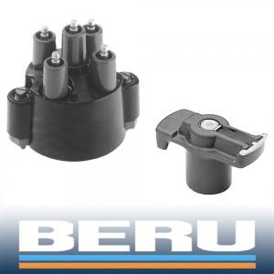 BERU VERTEILERKAPPE + VERTEILERFINGER MERCEDES 190er W201 + W124 + G-KLASSE W460