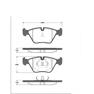 BREMSSCHEIBEN 305mm + BREMSBELÄGE VORNE JAGUAR XK 8 4.0 BREMSEN-SET (1996-2006) Pic:2