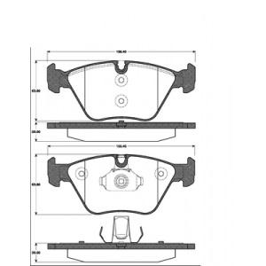BREMSSCHEIBEN 325mm belüftet + BREMSBELÄGE VORNE BMW X3 E83 (AUCH X-DRIVE) Pic:2