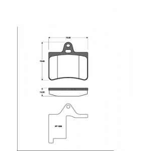 BREMSSCHEIBEN 276mm + BELÄGE HINTEN CITROEN C5 DC RC auch Break Kombi DE RE Pic:2