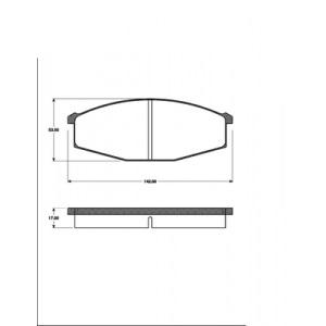 2 BREMSSCHEIBEN 295x20mm + BELÄGE VORNE NISSAN PATROL GR I (Y60) AB 1983 Pic:2