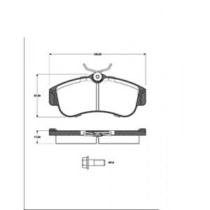 BREMSSCHEIBEN + BREMSBELÄGE VORNE NISSAN ALMERA II (N16) PRIMERA (P10) ohne ABS  Pic:2