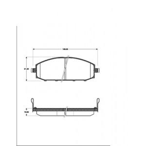 2 BREMSSCHEIBEN 306mm + BELÄGE VORNE NISSAN PATROL GR II (Y61) AB 1997 Pic:2