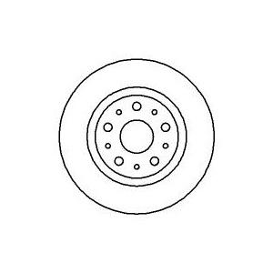 BREMSSCHEIBEN 276mm + BREMSBELÄGE HINTEN ALFA 166 (936) LANCIA KAPPA (838A 838B) Pic:1