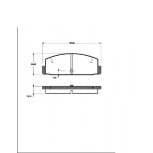 2 BREMSSCHEIBEN 261mm + BELÄGE HINTEN MAZDA 626 V GF GW + PREMACY CP1997-2005 Pic:2