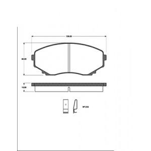 BREMSSCHEIBEN 276mm + BREMSBELÄGE VORNE MAZDA MPV I 95-1999 3.0 V6 2.5 TD BREMSE Pic:2