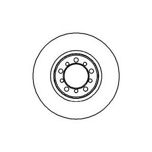 BREMSSCHEIBEN 300mm belüftet + BREMSBELÄGE VORNE MERCEDES S-KLASSE (W/C126)  Pic:1