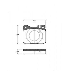 BREMSSCHEIBEN 300mm belüftet + BREMSBELÄGE VORNE MERCEDES S-KLASSE (W/C126)  Pic:2