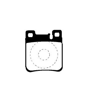 BREMSSCHEIBEN 290mm + BREMSBELÄGE HINTEN MERCEDES BENZ S210 T-Modell KOMBI W210 Pic:2