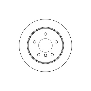 2 BREMSSCHEIBEN 258mm + BELÄGE HINTEN MERCEDES-BENZ A-KLASSE (W168) VANEO (414) Pic:1
